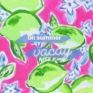 Summer Vacay! 💕 🍹 🐚
